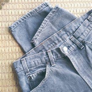 1985 Vintage Orange Tab Levi's 505 Jeans 32 X 32